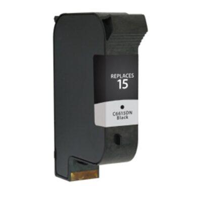 HP C6615D (15) - kompatibilní - Černá na 600 stran(031-02120)