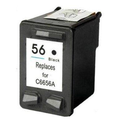 HP C6656A (56) - kompatibilní - Černá na 450 stran(031-02290)