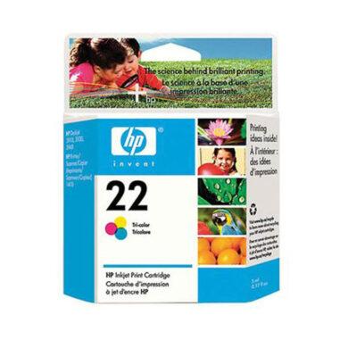 HP C9352A (22) - originální - Barevná na 165 stran(031-02635)