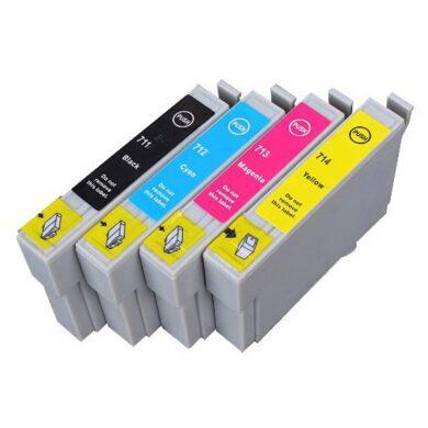 Epson T0715 - kompatibilní - sada barev  Bk/C/M/Y(031-02944)