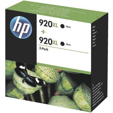 HP D8J47A (920XL) - originální - Černá - Sada multipack(031-03327)