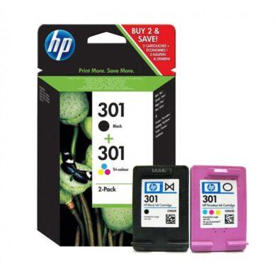 HP N9J72AE  no.301 2pack black(190s) + color(165s)(031-03434)