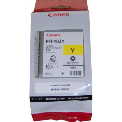 Canon PFI-102Y - originální - Yellow(031-03473)