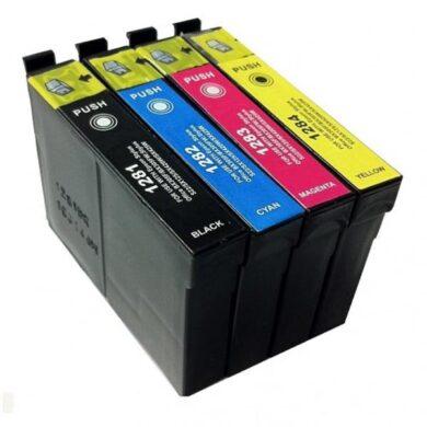 Epson T1285 - kompatibilní - sada barev  Bk/C/M/Y(031-03604)