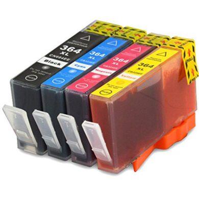 HP SD534EE (364) - kompatibilní - Černá + sada barev(031-03665)