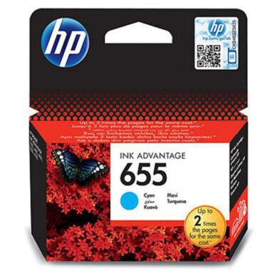 HP CZ110AE (655) - originální - Cyan na 600 stran(031-03971)