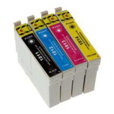 Epson T1816 (18XL) - kompatibilní - Černá + sada barev(031-04074)