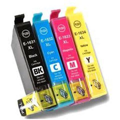 Epson T1636 (16XL) - kompatibilní - sada barev  Bk/C/M/Y(031-04104)