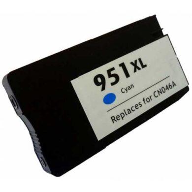 HP CN046A (951XL) - kompatibilní - Cyan velkoobjemová na 1500 stran(031-04161)