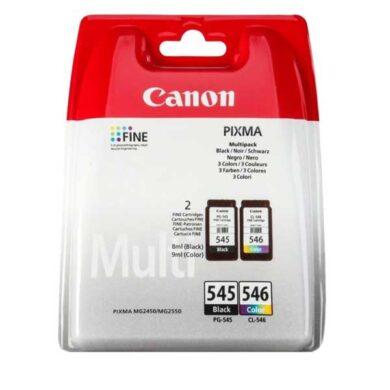 Canon PG-545/CL-546 - originální - Černá + sada barev(031-04175)