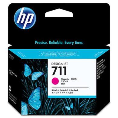 HP CZ135A 3pack magenta (no.711) 3x 29ml. - originální(031-04186)