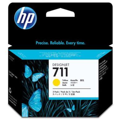 HP CZ136A 3pack yellow (no.711) 3x 29ml. - originální(031-04187)
