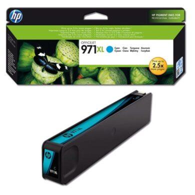 HP CN626AE (971XL) - originální - Cyan velkoobjemová na 6600 stran(031-04201)