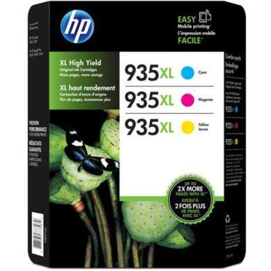 HP F6U78A (935XL) - originální - Sada barev (C-M-Y)(031-04238)