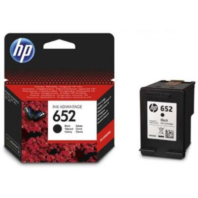 HP F6V25AE (652) - originální - Černá na 360 stran(031-04330)
