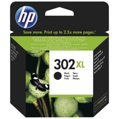 HP F6U68AE (302XL) - originální - Černá velkoobjemová na 480 stran(031-04470)