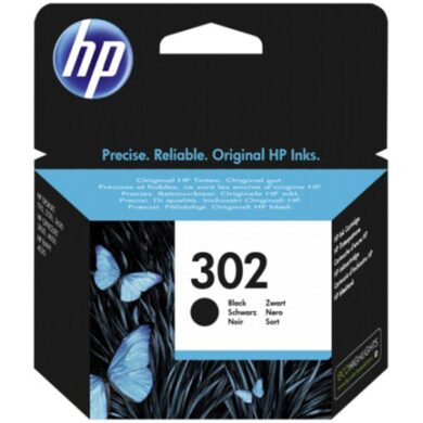HP F6U66AE (302) - originální - Černá na 190 stran(031-04475)