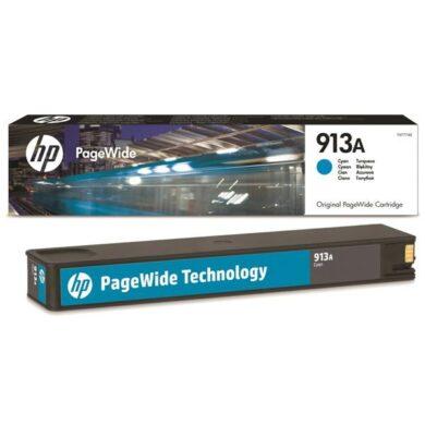 HP F6T77AE (913A) - originální - Cyan na 2800 stran(031-04501)