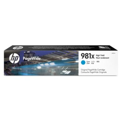 HP L0R09A CY (no.981X) pro MFP586 ink cyan(031-04656)