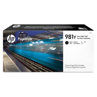 HP L0R16A BK (no.981Y) pro MFP586 ink black(031-04660)