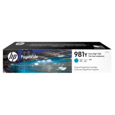 HP L0R13A CY (no.981Y) pro MFP586 ink cyan(031-04661)