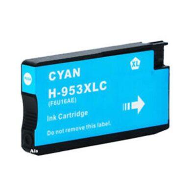 HP F6U16AE (953XL) - kompatibilní - Cyan velkoobjemová na 1600 stran(031-04701)