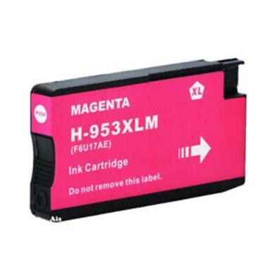 HP F6U17AE (953XL) - kompatibilní - Magenta velkoobjemová na 1600 stran(031-04702)