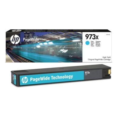 HP F6T81A CY (no.973X) pro PW477/577, 7k cyan(031-04711)