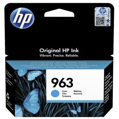 HP 3JA23A CY (no.963) pro OJ 9010/13 9620/23 cyan(031-04811)