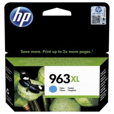 HP 3JA27A CY (no.963XL) pro OJ 9010/13 9620/23 cyan(031-04816)