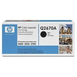 HP Q2670A (308A) - originální - Černá na 6000 stran