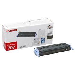 Canon Cartridge 707 Bk - originální - Černá