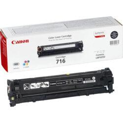 Canon Cartridge 716 Bk - originální - Černá