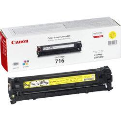 Canon Cartridge 716 Ye - originální - Yellow