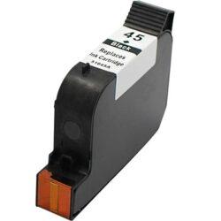 HP 51645A (45) - kompatibilní - Černá na 833 stran