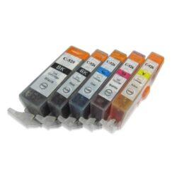 Canon PGI-525Bk/CLI-526  BCMY - kompatibilní - Černá + sada barev
